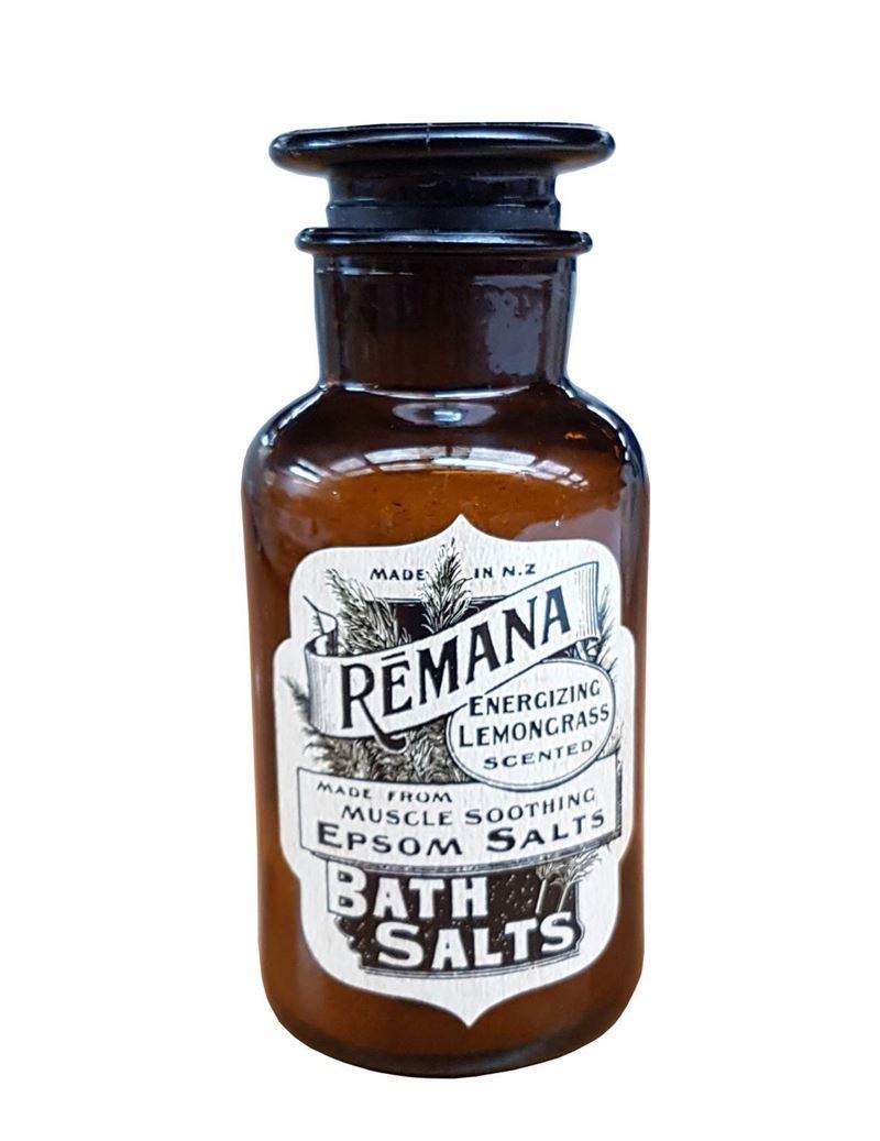 Remana Lemongrass Scented Bath Salts