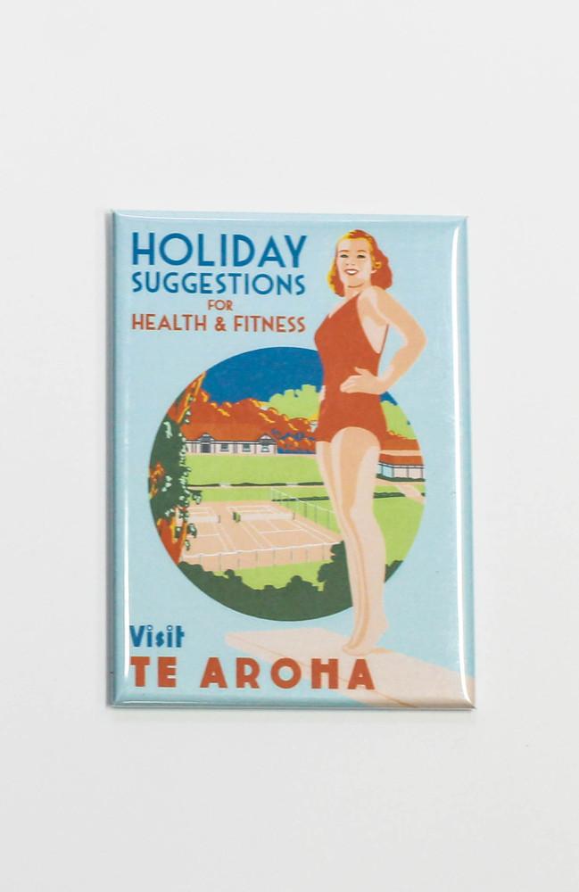 Fridge magnet - Visit Te Aroha