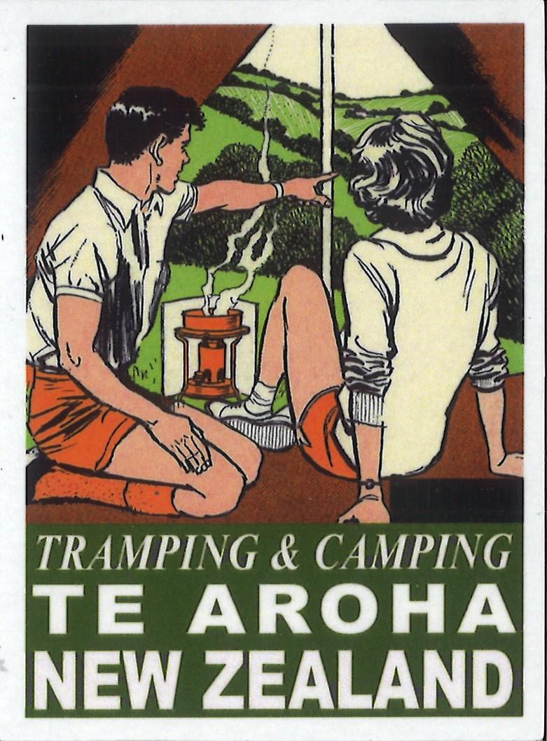 Tramping and Camping Te Aroha Magnet