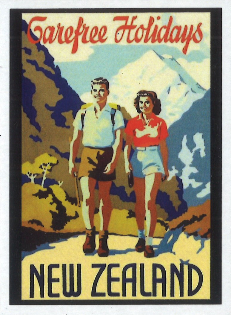 Carefree Holidays New Zealand Magnet