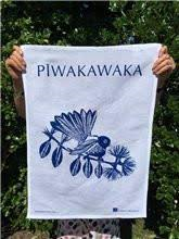 Piwakawaka Tea Towel