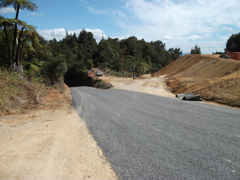 Tui Road Upgrade 2011