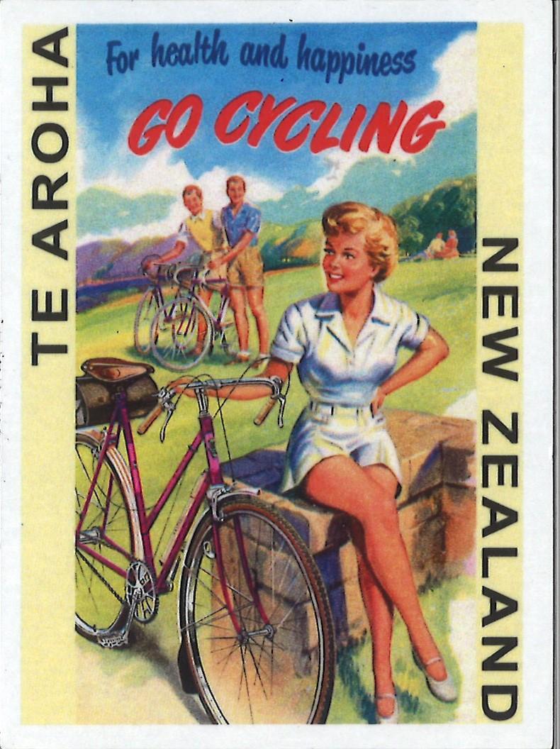 Go Cycling Te Aroha Magnet