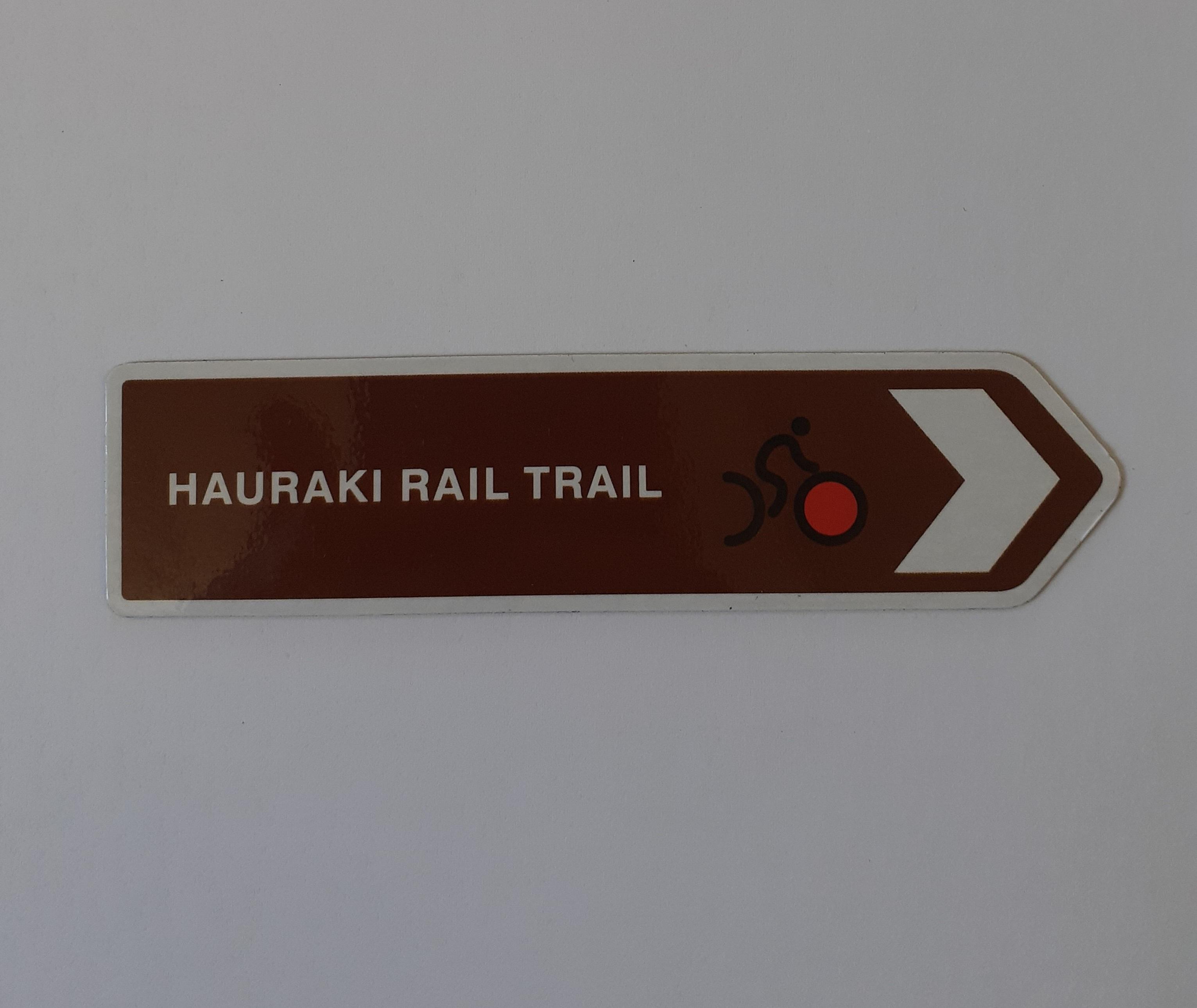 Fridge magnet - Hauraki Rail Trail