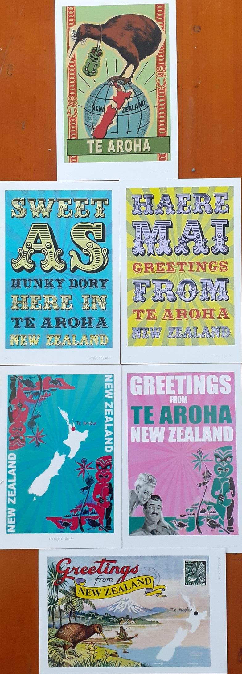 Te Aroha Postcard Pack 1