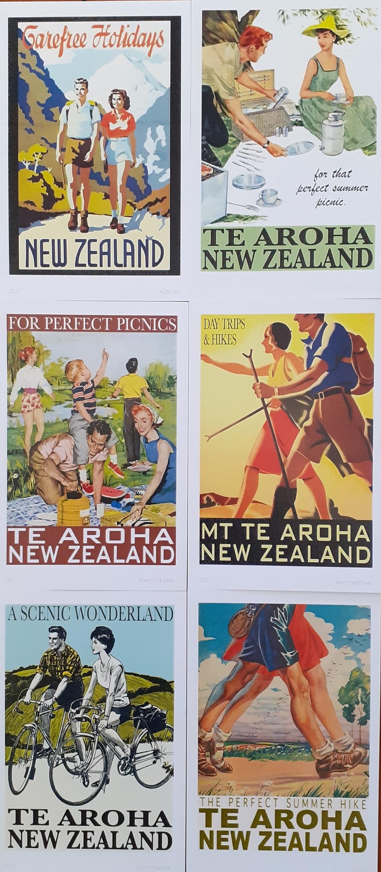 Te Aroha Postcard Pack 2
