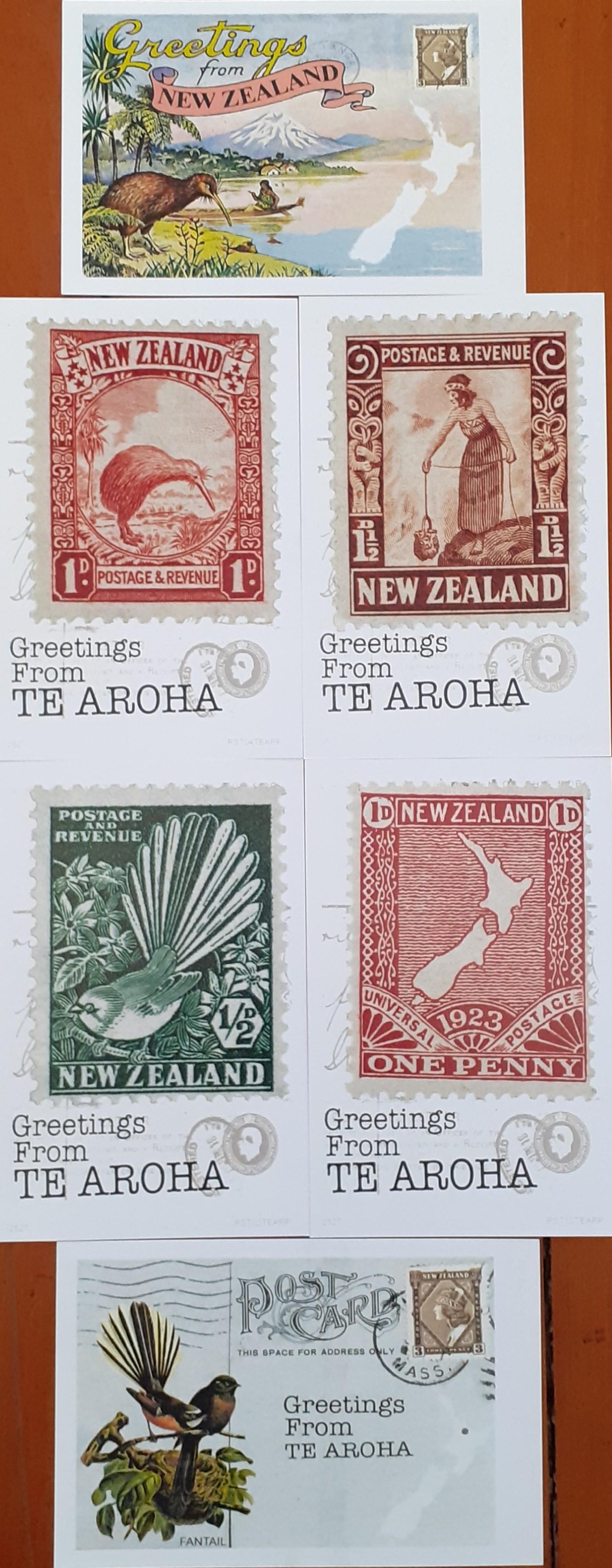 Te Aroha Postcard Pack 3