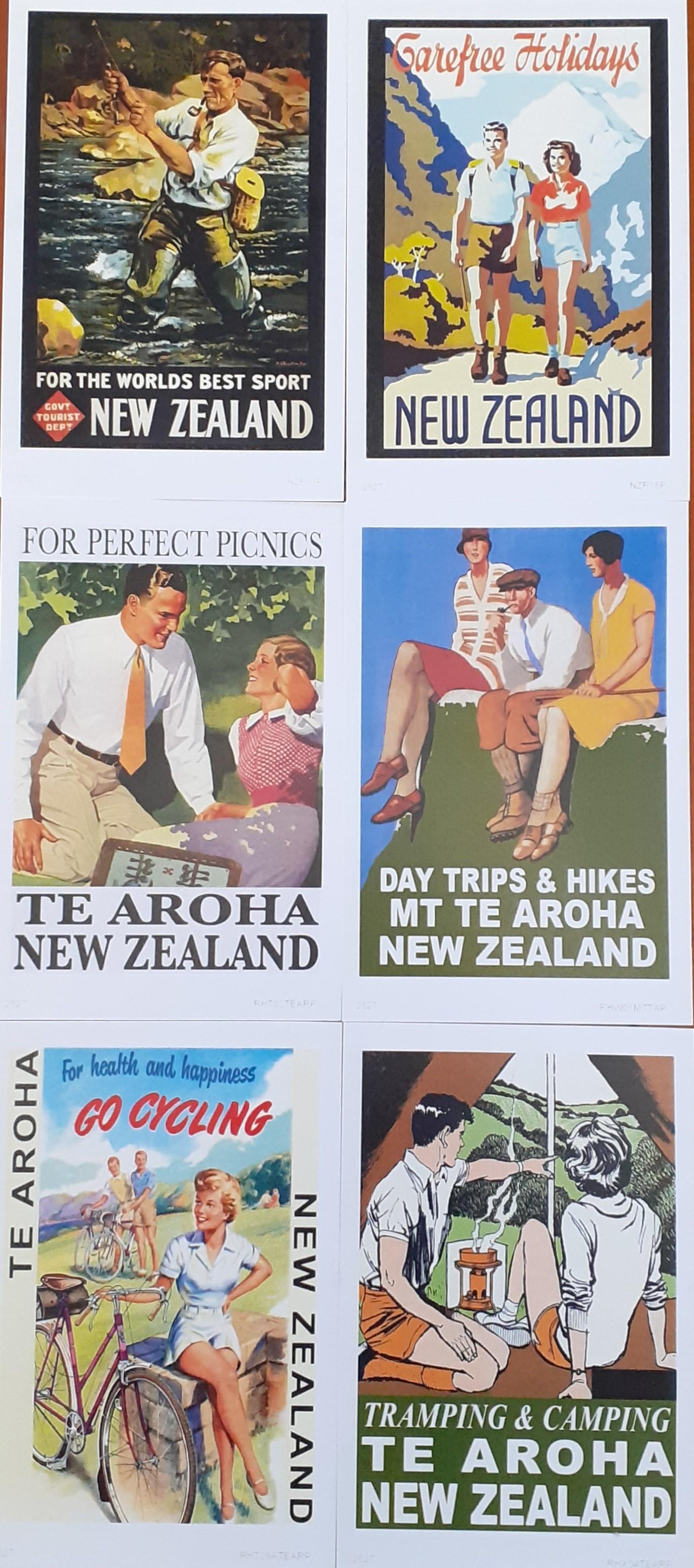 Te Aroha Postcard Pack 4