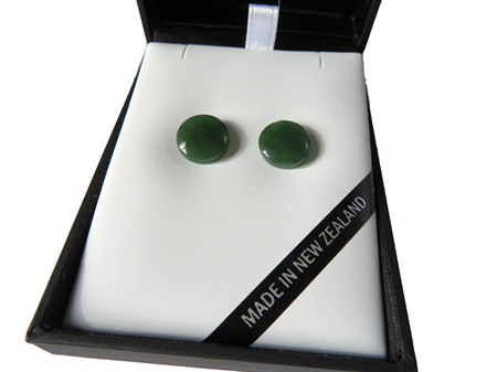 Mana Greenstone Earrings GS1111